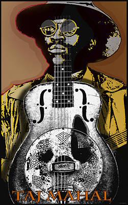 Musicians Royalty Free Images - Taj Mahal Blues Musician Royalty-Free Image by Larry Butterworth