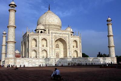 Photograph - Taj Mahal Love by Aidan Moran