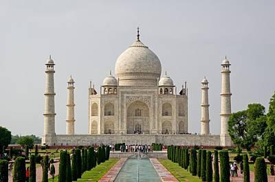 Photograph - Taj Mahal by Milan Surkala