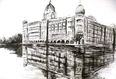 Taj Mahal Palace After The Rains Original