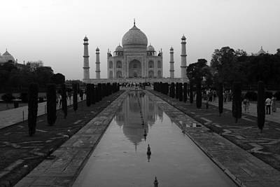 Photograph - Taj Mahal Reflection by Aidan Moran