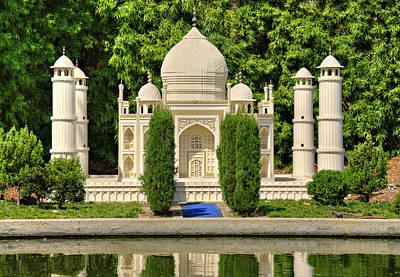 Photograph - Taj Mahal by Ricky Barnard