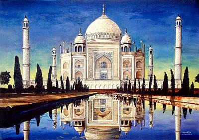 Taj Mahal Painting - Taj Mahal by Somaditya Das