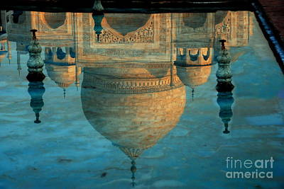Photograph - Taj Reflection by Jacqueline M Lewis