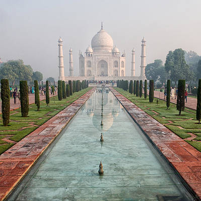 Tajmahal Photograph - Taj-the Symbol Of Love by Mukesh Srivastava