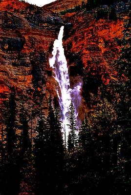 Photograph - Takakwa Falls by Jim Hogg