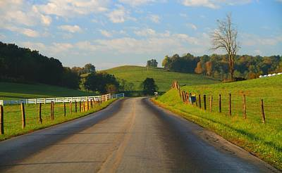 Old Country Roads Photograph - Take A Back Road by Dan Sproul