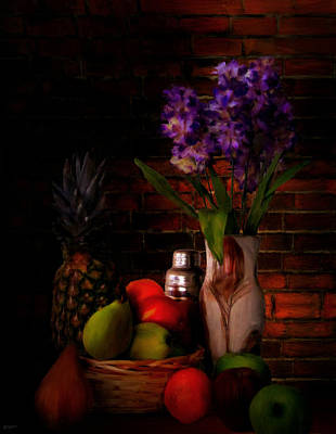 Kitchen Decor Photograph - Take A Break by Lourry Legarde