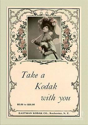 Take A Kodak With You Art Print by Anne Kitzman