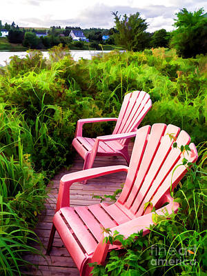Lake View Photograph - Take A Load Off by Edward Fielding