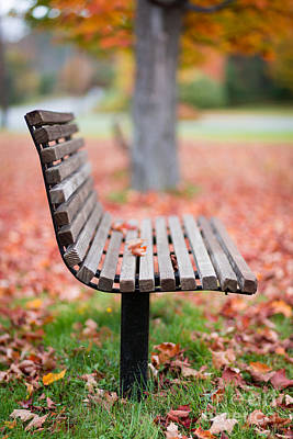 Park Benches Photograph - Take A Seat by Edward Fielding