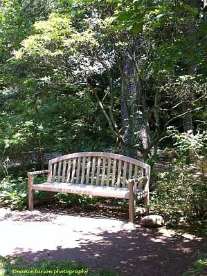 Photograph - Take A Seat by Nance Larson