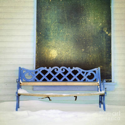 Green Tones Photograph - Take A Seat by Priska Wettstein