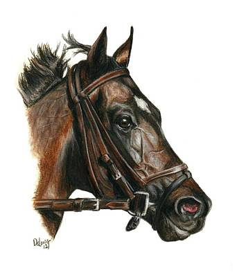 Race Horse Painting - Take Charge Indy by Pat DeLong