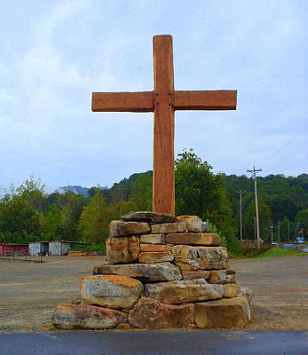 Photograph - Take It To The Cross by Lew Davis
