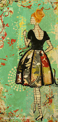 Sixties Mixed Media - Take Me Away Iphone Case Art  by Janelle Nichol