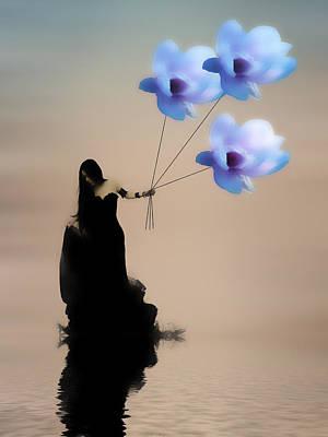 Floral Digital Art Digital Art Digital Art - Take Me Away by Sharon Lisa Clarke