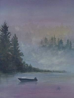 Painting - Take Me Fishing by Gigi Dequanne