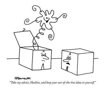 Take My Advice Art Print