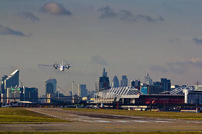Take Off From London Art Print