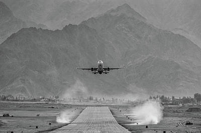 Himalayas Photograph - Take Off by Krishnaraj Palaniswamy