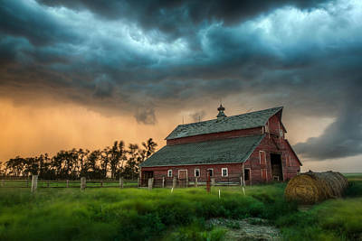 Wind Photograph - Take Shelter by Aaron J Groen