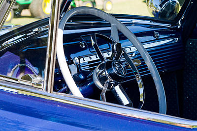 Take The Wheel Art Print by Bernard  Barcos