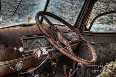 Photograph - Take The Wheel by Eddie Yerkish