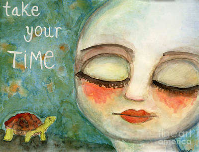 Painting - Take Your Time by AnaLisa Rutstein
