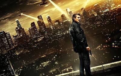 Taken 3 Liam Neeson Art Print by Movie Poster Prints