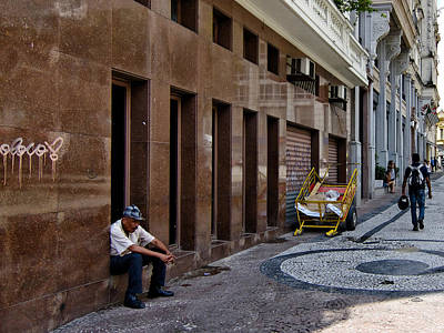 Photograph - Taking A Break - Sao Paulo by Julie Niemela