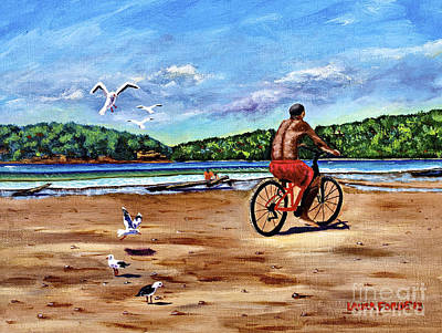 Painting - Taking A Ride  by Laura Forde