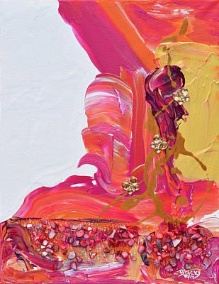 Artist Mixed Media - Taking Flight At Sunset by Donna Blackhall