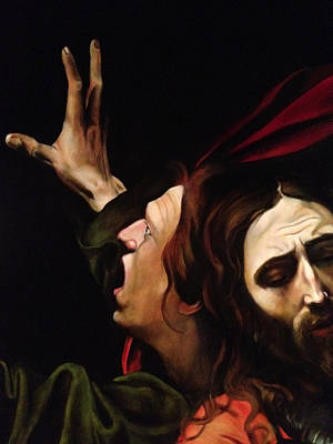 Jhon Painting - Taking Of Christ Detail by Massimo Tizzano