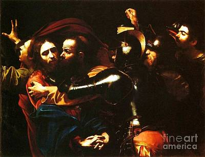 Taking Of Christ Art Print by Pg Reproductions