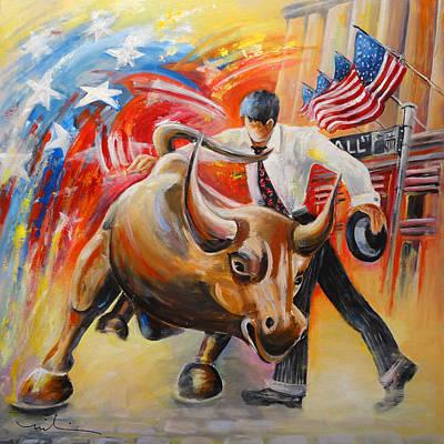 Creative Charisma - Taking on The Wall Street Bull by Miki De Goodaboom