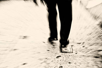 Photograph - Taking Steps  by Karol Livote