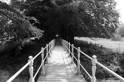 Limburg Photograph - Taking The Bridge To by Jolly Van der Velden