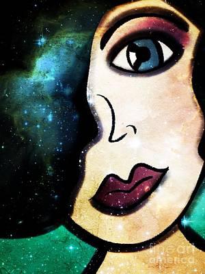 Tala - Goddess Of Stars Art Print
