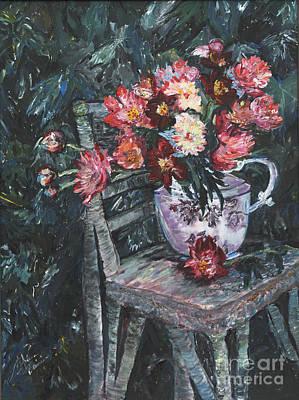Painting - Talar's Teapot by Helena Bebirian