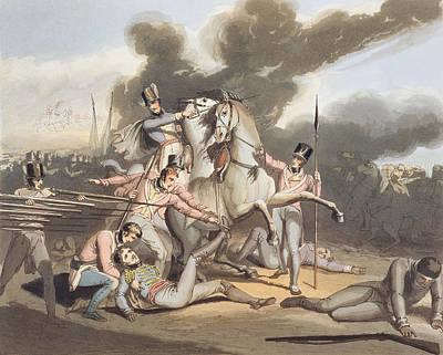 Talavera, 28th July 1809, From The Art Print by Richard Westall