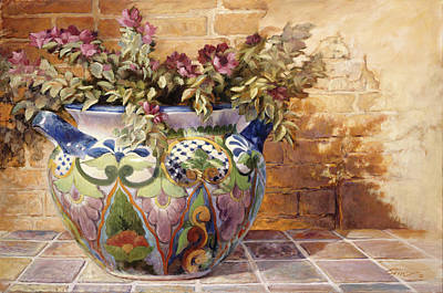 Painting - Talavera Morning by Gini Heywood