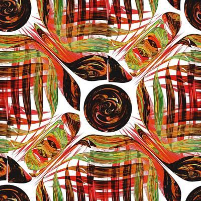 Textile Digital Art - Tale Of Sun by Anastasiya Malakhova