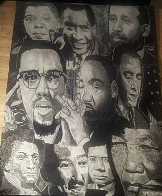 Talented Tenth Art Print by Demetrius Washington