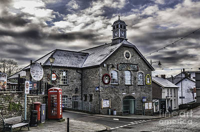 Photograph - Talgarth Town Hall 3 by Steve Purnell