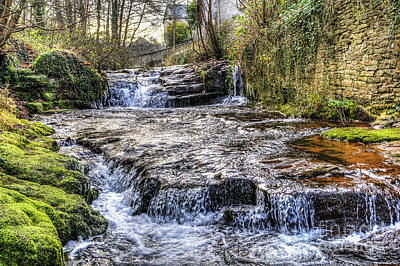 Photograph - Talgarth Waterfall 1 by Steve Purnell