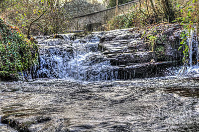 Photograph - Talgarth Waterfall 2 by Steve Purnell
