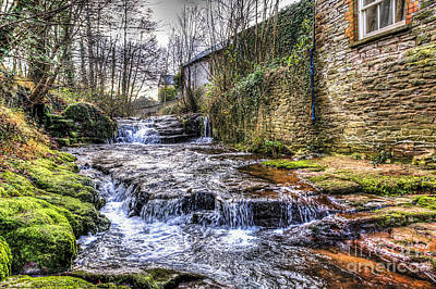Photograph - Talgarth Waterfall 4 by Steve Purnell