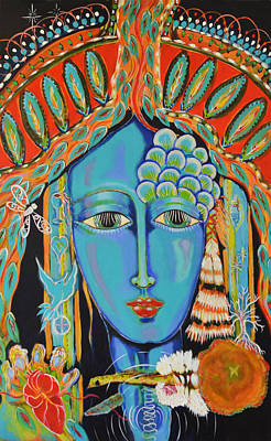 Painting - Taliswoman Generations by Mary Ann Matthys