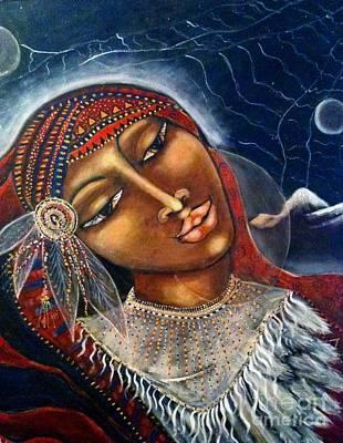 Taliswoman Art Print by Maya Telford